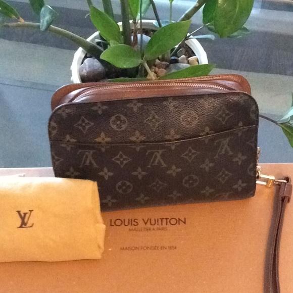 52615d0e0f6a Louis Vuitton Handbags - Authentic LV. Orsay Clutch bag w Dust bag
